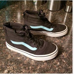 Vans black hi-top sneakers 13